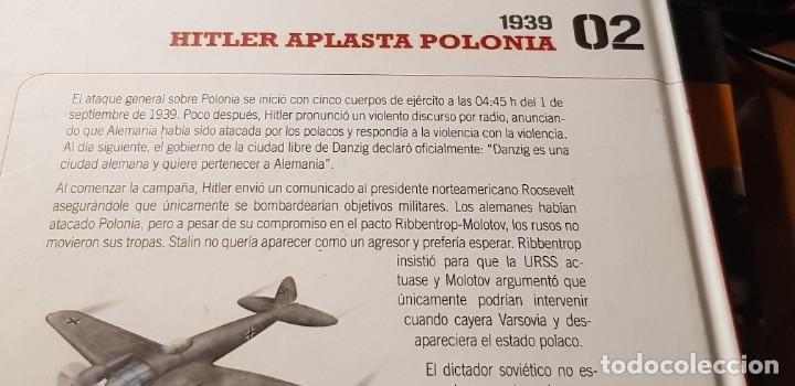 Libros: (DVD+ LIBRO 02) LA TORMENTA SE AVECINA -HITLER APLASTA POLONIA- II GUERRA MUNDIAL - Foto 7 - 206278860