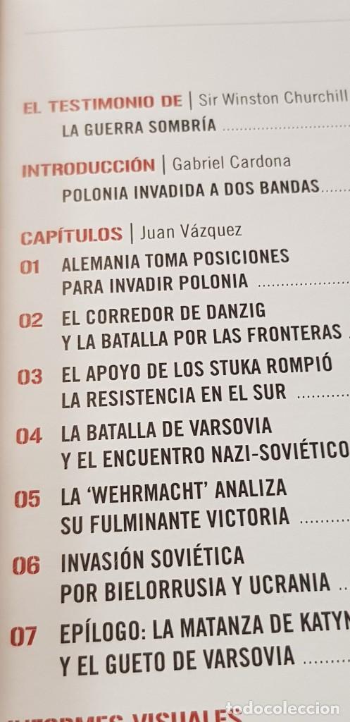Libros: (DVD+ LIBRO 02) LA TORMENTA SE AVECINA -HITLER APLASTA POLONIA- II GUERRA MUNDIAL - Foto 8 - 206278860