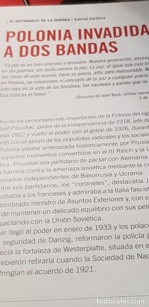 Libros: (DVD+ LIBRO 02) LA TORMENTA SE AVECINA -HITLER APLASTA POLONIA- II GUERRA MUNDIAL - Foto 9 - 206278860