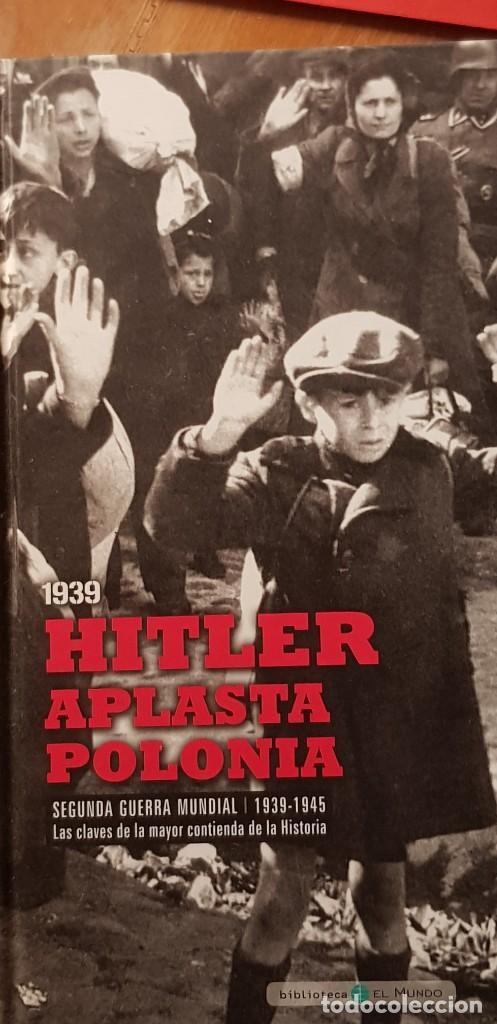 Libros: (DVD+ LIBRO 02) LA TORMENTA SE AVECINA -HITLER APLASTA POLONIA- II GUERRA MUNDIAL - Foto 13 - 206278860