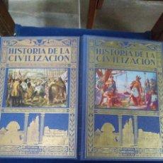 Libri: HISTORIA DE LA CIVILIZACION 2 TOMOS. Lote 207754793