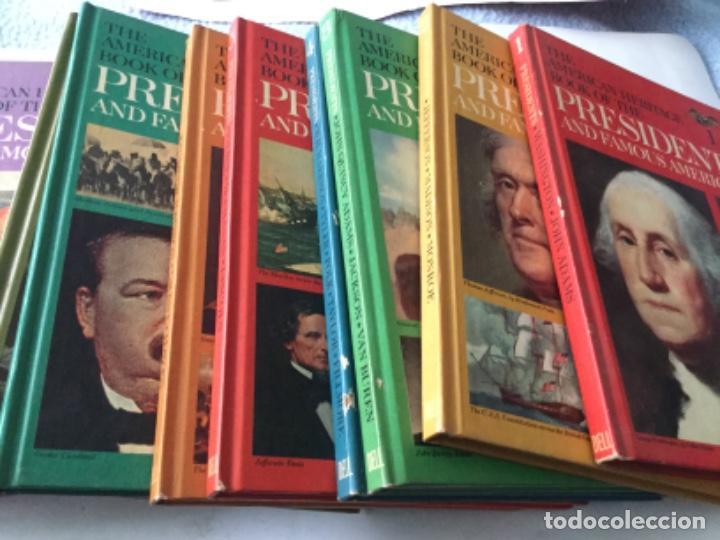 THE AMERICAN HERITAGE- PRES. & FAMOUS AMERICANS -1967- 11 VOL. (90 PAG. C/U.)- SÒLO FALTA NUM.11 (Libros Nuevos - Historia - Historia Universal)