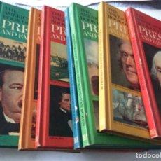 Libros: THE AMERICAN HERITAGE- PRES. & FAMOUS AMERICANS -1967- 11 VOL. (90 PAG. C/U.)- SÒLO FALTA NUM.11. Lote 207812527
