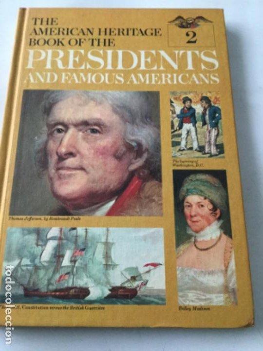 Libros: The american heritage- pres. & famous americans -1967- 11 vol. (90 pag. C/u.)- sòlo falta num.11 - Foto 7 - 207812527