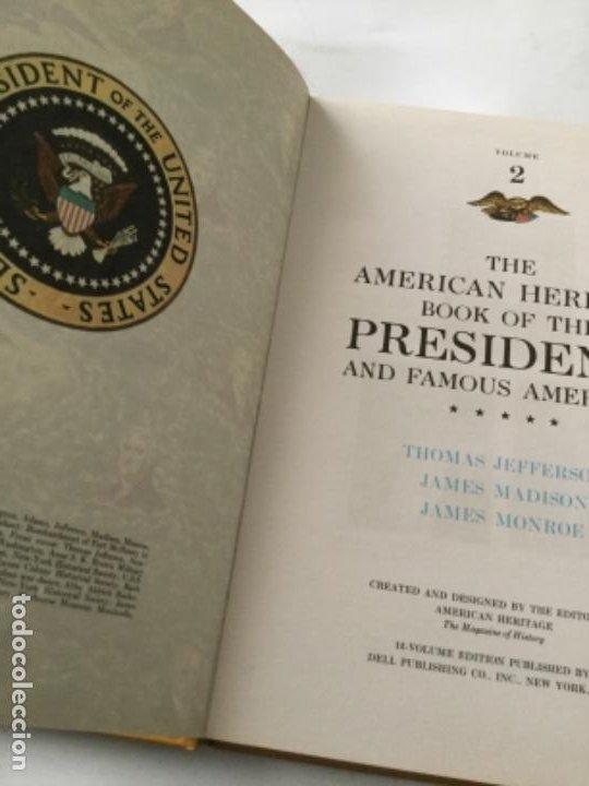 Libros: The american heritage- pres. & famous americans -1967- 11 vol. (90 pag. C/u.)- sòlo falta num.11 - Foto 8 - 207812527