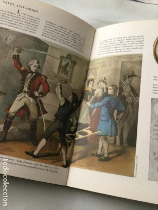 Libros: The american heritage- pres. & famous americans -1967- 11 vol. (90 pag. C/u.)- sòlo falta num.11 - Foto 16 - 207812527