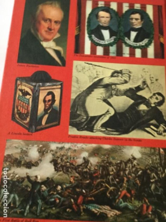 Libros: The american heritage- pres. & famous americans -1967- 11 vol. (90 pag. C/u.)- sòlo falta num.11 - Foto 25 - 207812527