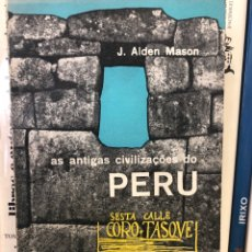 Libros: AS ANTIGAS CIVILIZAÇOES DO PERU. Lote 208226987
