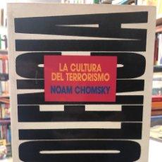 Libros: LA CULTURA DEL TERRORISMO. Lote 208459211