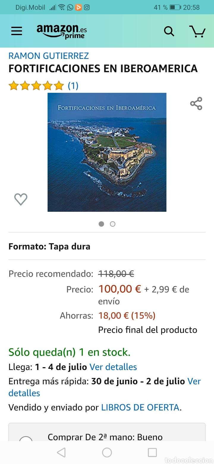 Libros: Fortificaciones en Iberoamerica - Foto 8 - 209838737