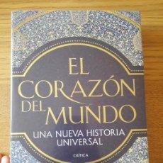 Libri: EL CORAZÓN DEL MUNDO, PETER FRANKOPAN, ED. CRITICA. 2016. TAPA DURA. PRECINTADO.. Lote 210540522