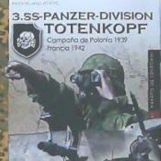 Libros: 3.SS-PANZER-DIVISION TOTENKOPF. Lote 210825567