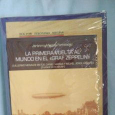 Libros: LIBRO LA PRIMERA VUELTA AL MUNDO EN ZEPPELIN, (INCLUYE DOS LIBROS, UN MAPA Y POSTALES). Lote 243638830
