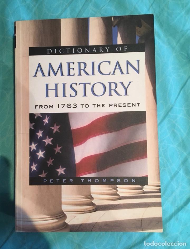 DICTIONARY OF AMERICAN HISTORY (Libros Nuevos - Historia - Historia Universal)