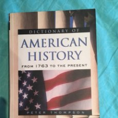 Libros: DICTIONARY OF AMERICAN HISTORY. Lote 214424286