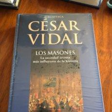 Libros: LIBRO CESAR VIDAL. LOS MASONES. PLANETA DEAGOSTINI. NUEVO. PRECINTADO.. Lote 216827933