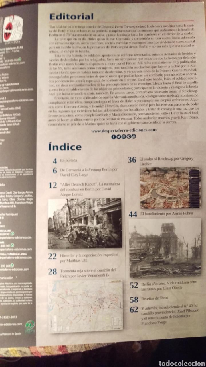 Libros: DOS O MAS REVISTAS, ENVÍO GRATIS. Desperta ferro contem.39. Berlín 1945 la batalla por la ciudad - Foto 2 - 276155498