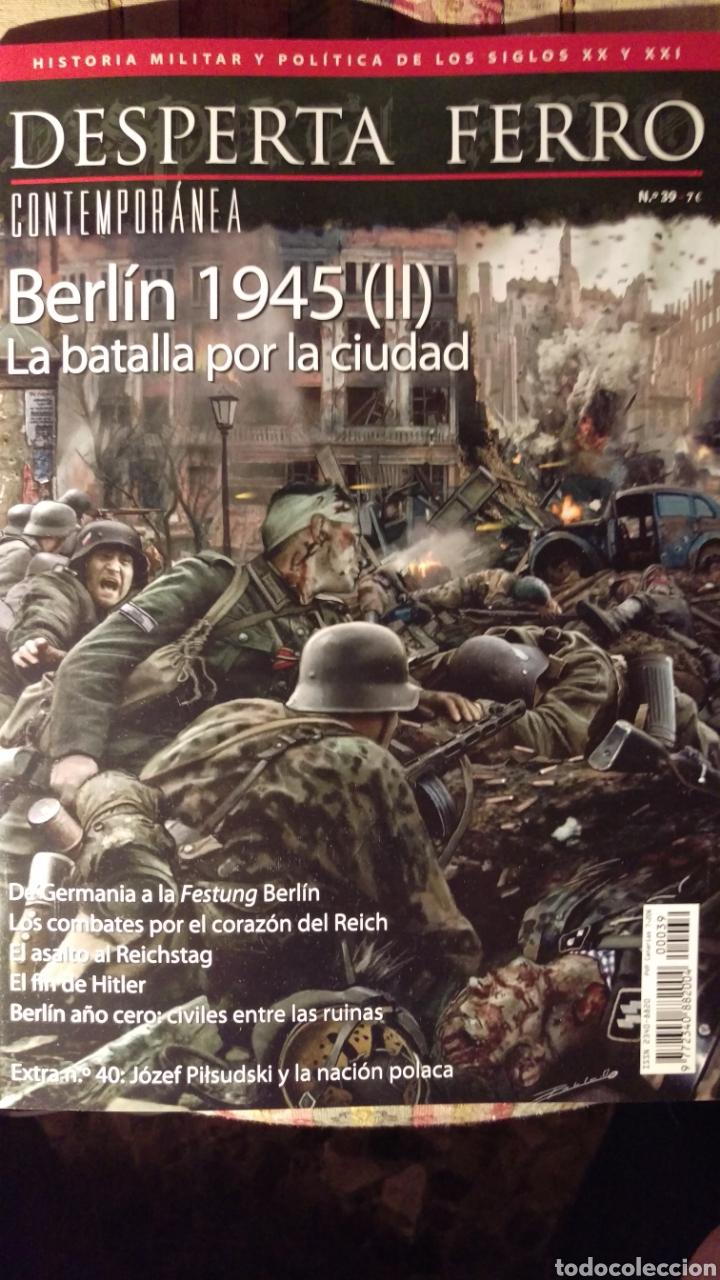 DOS O MAS REVISTAS, ENVÍO GRATIS. DESPERTA FERRO CONTEM.39. BERLÍN 1945 LA BATALLA POR LA CIUDAD (Libros Nuevos - Historia - Historia Universal)