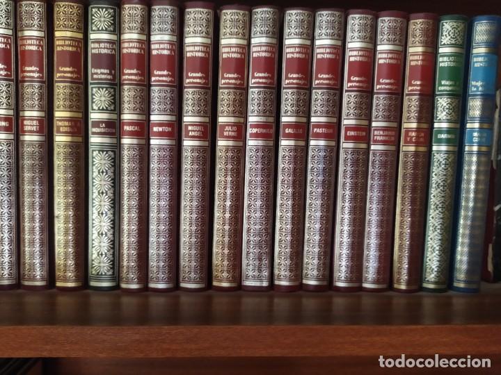 BIBLIOTECA HISTÓRICA GRANDES PERSONAJES - EDITORIAL URBIÓN S.A., 1984 (Libros Nuevos - Historia - Historia Universal)