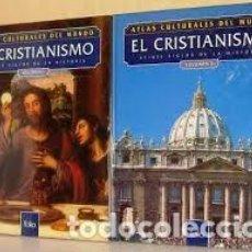 Libros: ATLAS CULTURALES DEL MUNDO (EL CRISTIANISMO VOL 1 Y 2 ). Lote 218095051
