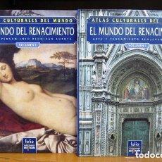 Libros: ATLAS CULTURALES DEL MUNDO (EL MUNDO DEL RENACIMIENTO VOL 1 Y 2). Lote 218095786