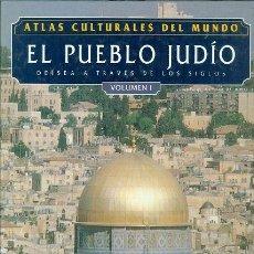 Libros: ATLAS CULTURALES DEL MUNDO (EL PUEBLO JUDÍO VOL 1 ). Lote 218096315