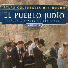 Libros: ATLAS CULTURALES DEL MUNDO (EL PUEBLO JUDÍO VOL 2). Lote 218096383