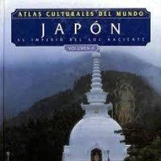 Libros: ATLAS CULTURALES DEL MUNDO ( JAPÓN VOL 2). Lote 218096922