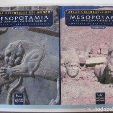 Libros: ATLAS CULTURALES DEL MUNDO ( MESOPOTAMIA VOL 1 Y 2). Lote 218097400