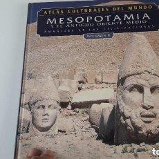 Libros: ATLAS CULTURALES DEL MUNDO ( MESOPOTAMIA VOL 2 ). Lote 218097523