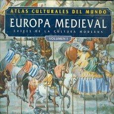 Libros: ATLAS CULTURALES DEL MUNDO ( EUROPA MEDIEVAL VOL 1 ). Lote 218098533