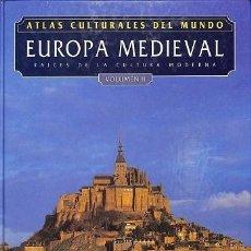 Libros: ATLAS CULTURALES DEL MUNDO ( EUROPA MEDIEVAL VOL 2 ). Lote 218098582