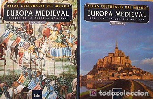 ATLAS CULTURALES DEL MUNDO ( EUROPA MEDIEVAL VOL 1 Y 2 ) (Libros Nuevos - Historia - Historia Universal)