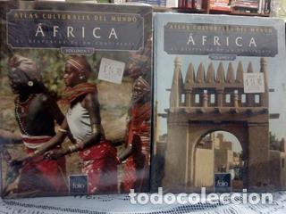 ATLAS CULTURALES DEL MUNDO ( AFRICAL VOL 1 Y 2 ) (Libros Nuevos - Historia - Historia Universal)