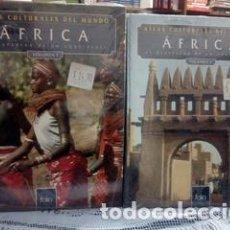 Libros: ATLAS CULTURALES DEL MUNDO ( AFRICAL VOL 1 Y 2 ). Lote 218098880