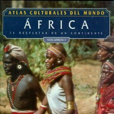 Libros: ATLAS CULTURALES DEL MUNDO ( AFRICAL VOL 1 ). Lote 218098925