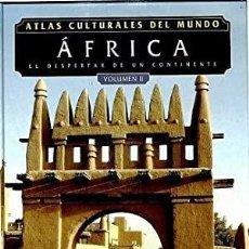 Libros: ATLAS CULTURALES DEL MUNDO ( AFRICAL VOL 2 ). Lote 218098986