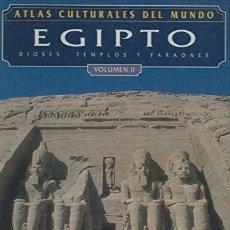 Libros: ATLAS CULTURALES DEL MUNDO ( EGIPTO VOL 2 ). Lote 218099400