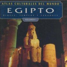 Libros: ATLAS CULTURALES DEL MUNDO ( EGIPTO VOL 1 ). Lote 218099463