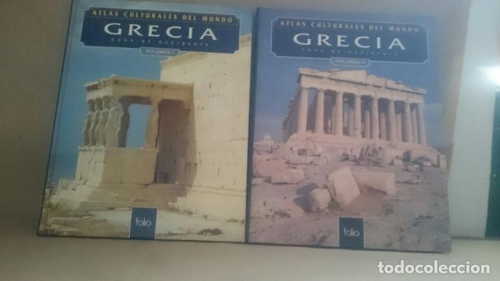 ATLAS CULTURALES DEL MUNDO ( GRECIA VOL 1 Y 2) (Libros Nuevos - Historia - Historia Universal)