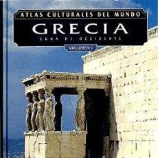 Libros: ATLAS CULTURALES DEL MUNDO ( GRECIA VOL 1 ). Lote 218099820