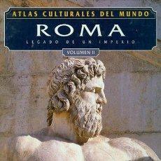 Libros: ATLAS CULTURALES DEL MUNDO ( ROMA VOL 2 ). Lote 218100345