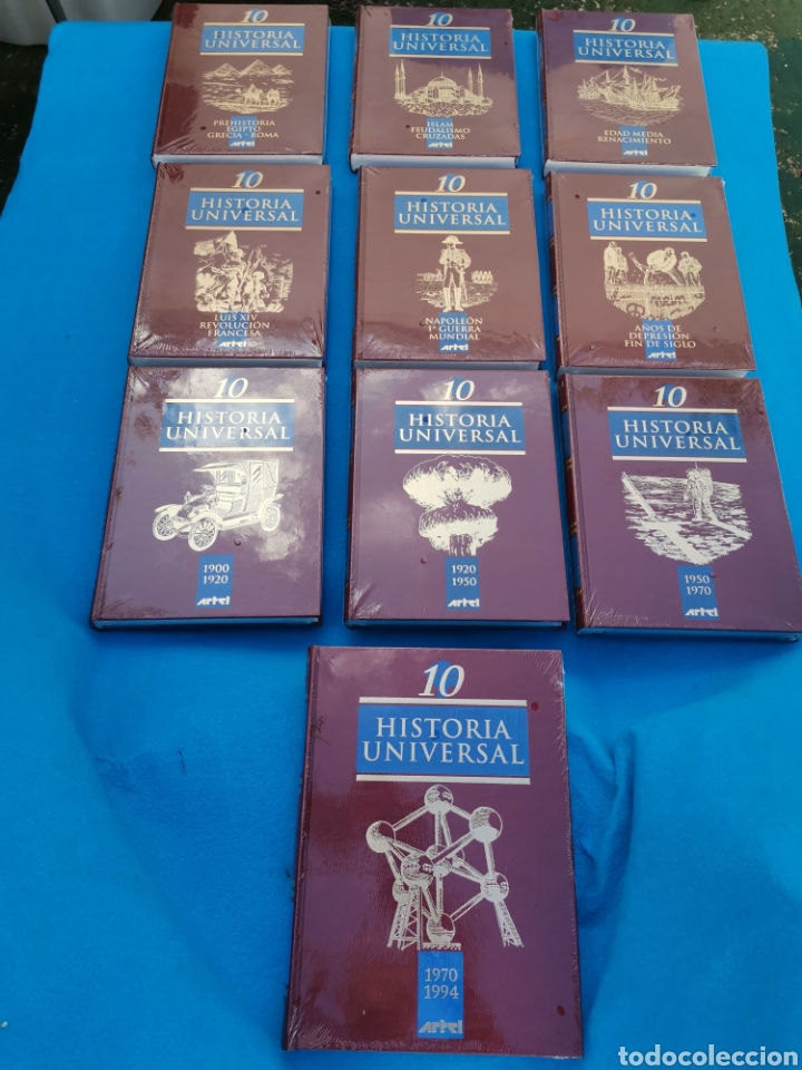 Libros: HISTORIA UNIVERSAL - Foto 2 - 218222228
