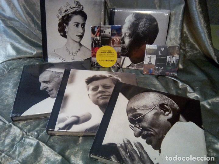 Libros: COLECCIÓN 5 LIBROS Y DVDS JOYAS DE LA HISTORIA - Foto 5 - 218313406