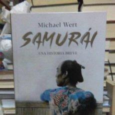Libros: MICHAEL WERT.SAMURAI.LA ESFERA DE LOS LIBROS. Lote 218484747