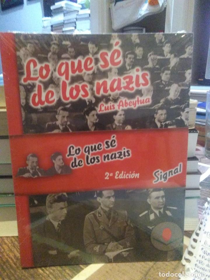 LUIS ABEYTUA.LO QUE SE DE LOS NAZIS.EDICIONES UNIVERSIDAD DE CANTABRIA (Libros Nuevos - Historia - Historia Universal)