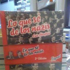 Libros: LUIS ABEYTUA.LO QUE SE DE LOS NAZIS.EDICIONES UNIVERSIDAD DE CANTABRIA. Lote 219132622