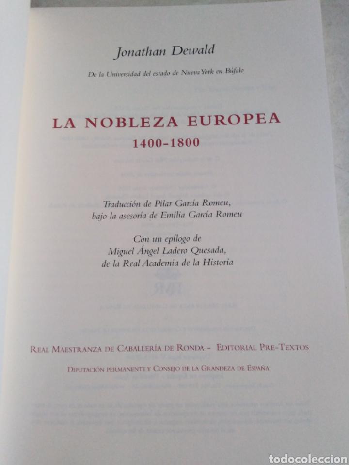 Libros: La nobleza europea 1400-1800 - Foto 3 - 222258941