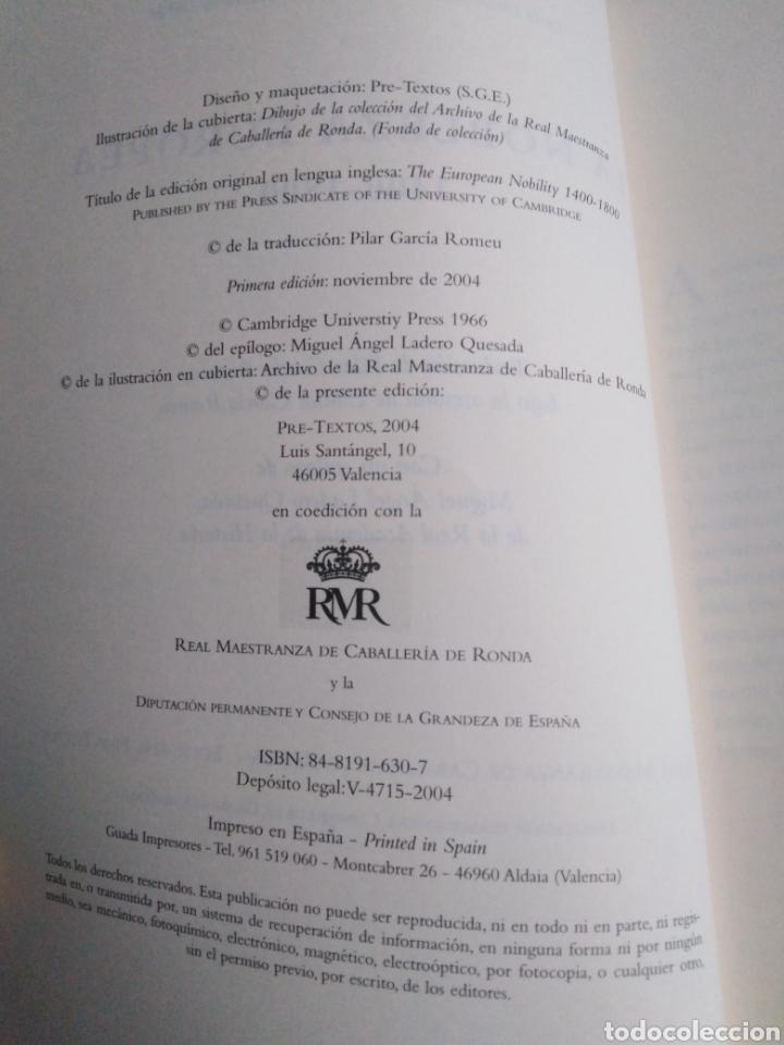 Libros: La nobleza europea 1400-1800 - Foto 4 - 222258941