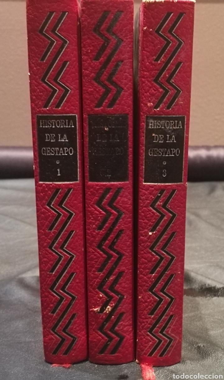 Libros: HISTORIA DE LA GESTAPO , CIRCULO DE AMIGOS DE LA HISTORIA , VOLUMEN 1,2 Y 3 , TAPA DURA Y 250 PÁGINA - Foto 2 - 222925690